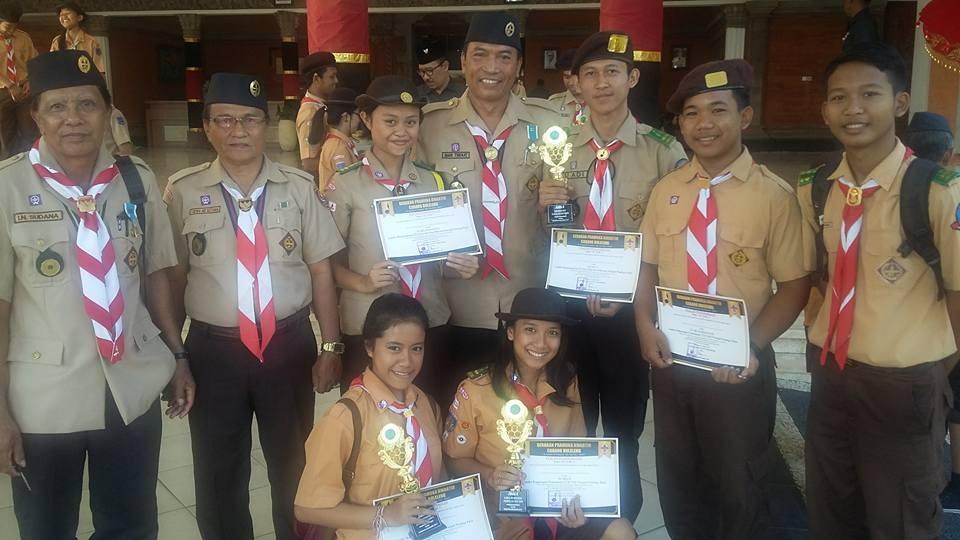 smkti, ppdb, Ambalan Pandu Kunti, Salah Satu Ambalan Terbaik di Buleleng