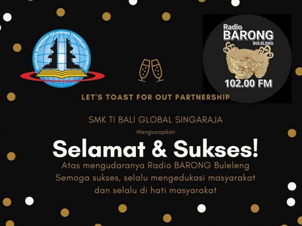 Conratulations! Radio Barong Buleleng 102.00 FM