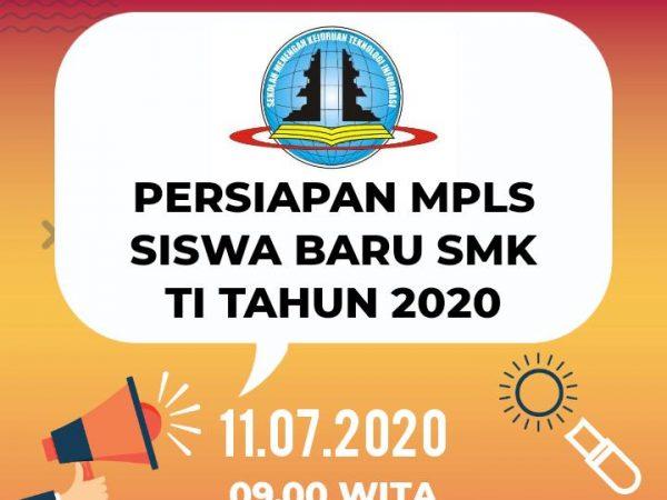 Penting Untuk Siswa Baru! Persiapan MPLS Siswa Baru SMK TI Tahun 2020
