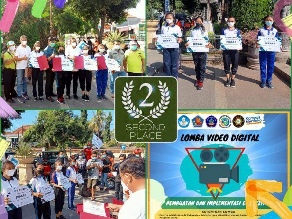 SMK TI  Raih Juara 2 Lomba Video Digital